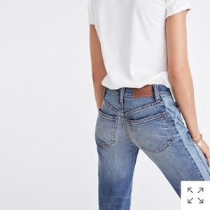 Madewell Cruiser Straight Crop (Pieced Edition)